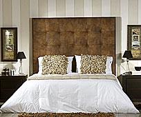 Cabecero Hilton Tapizado - Cabeceros y Camas de tapizados - Muebles Coloniales y Muebles Rústicos