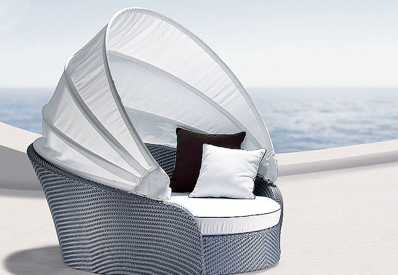cama con capota peafowl eur
