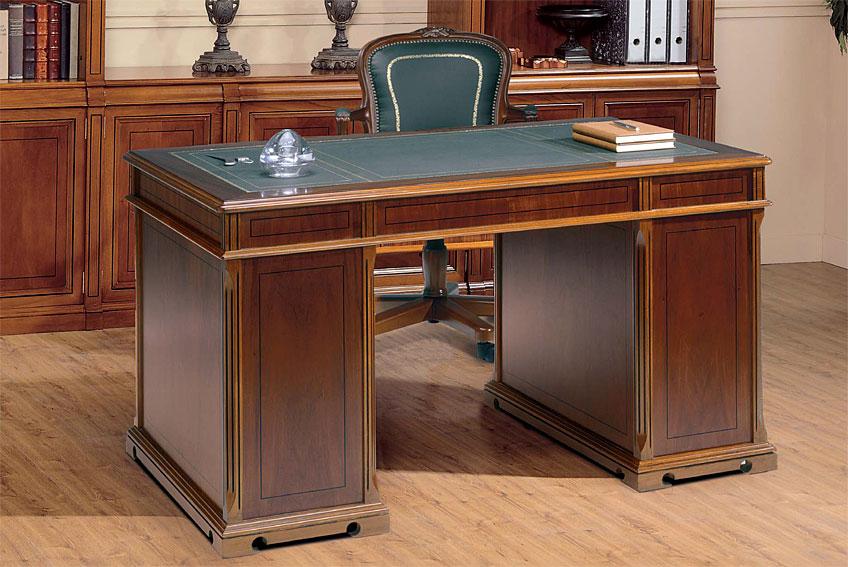 Mesa de escritorio cl sica damon en cosas de - Mesa escritorio clasica ...