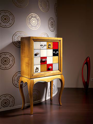 Mueble de entrada 4 cajones cibeles no disponible en - Muebles de entrada originales ...
