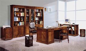 Mesa de escritorio clásica Monroe