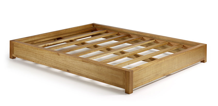 Cama tatami colonial natural no disponible en for Bases para cama hechas con tarimas