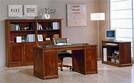 Mesa de escritorio clásica west