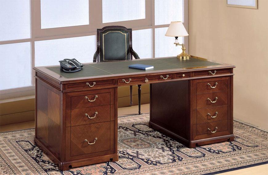 Mesa de escritorio newman cl sica en cosas de - Mesa escritorio clasica ...