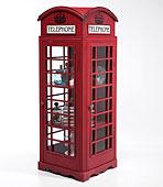 Vitrina Cabina Telefonica London