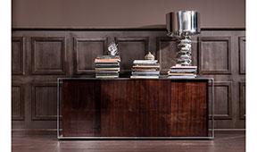 Aparador 4 puertas marrón moderno Vanity