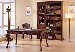 Mesa de escritorio chippendale crowe clásico