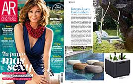 Revista Ana Rosa Quintana - Agosto 2014 Portada y P�gina 14