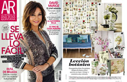 Revista Ana Rosa Quintana - Enero 2015 Portada y P�gina 17