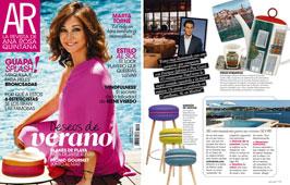 Revista Ana Rosa Quintana - Julio 2015 Portada y P�gina 113