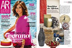 Revista Ana Rosa Quintana - Julio 2015 Portada y P�gina 15