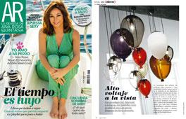 Revista Ana Rosa Quintana - Agosto 2015 Portada y P�gina 16