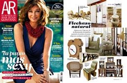 Revista Ana Rosa Quintana - Septiembre 2014 Portada y P�gina 17