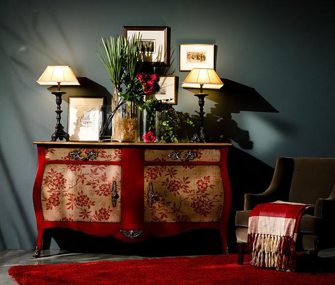 Aparador 2 cajones cl sico luis xvi en for Muebles vintage online baratos