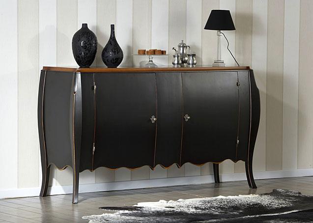 Armario Cama Plegable Ikea ~ Aparador Clásico Riviera Negro no disponible en