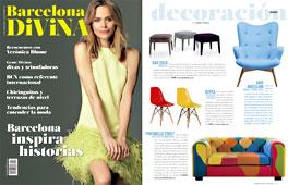 Revista Barcelona Divina - Mayo 2015 Portada y P�gina 49