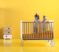 Cuna Kinder Garden convertible en Escritorio Infantil