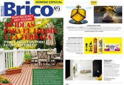 Revista Brico - Junio 2015 Portada y P�gina 8
