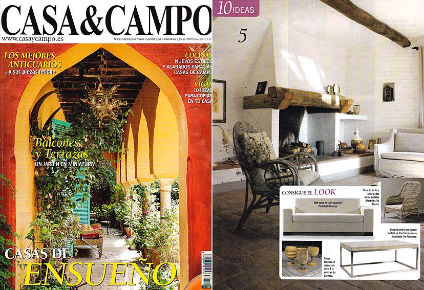 En revista casa campo enero 2012 - Muebles casa de campo ...