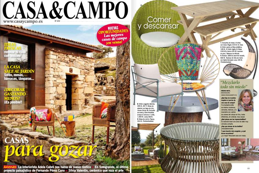 En revista casa campo mayo 2013 for Casa y campo muebles