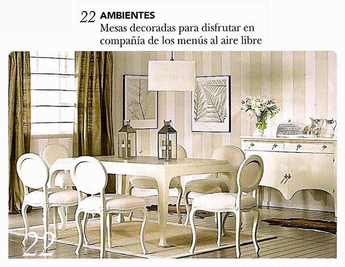 En revista casa y jard n julio 2010 for Casa y jardin revista
