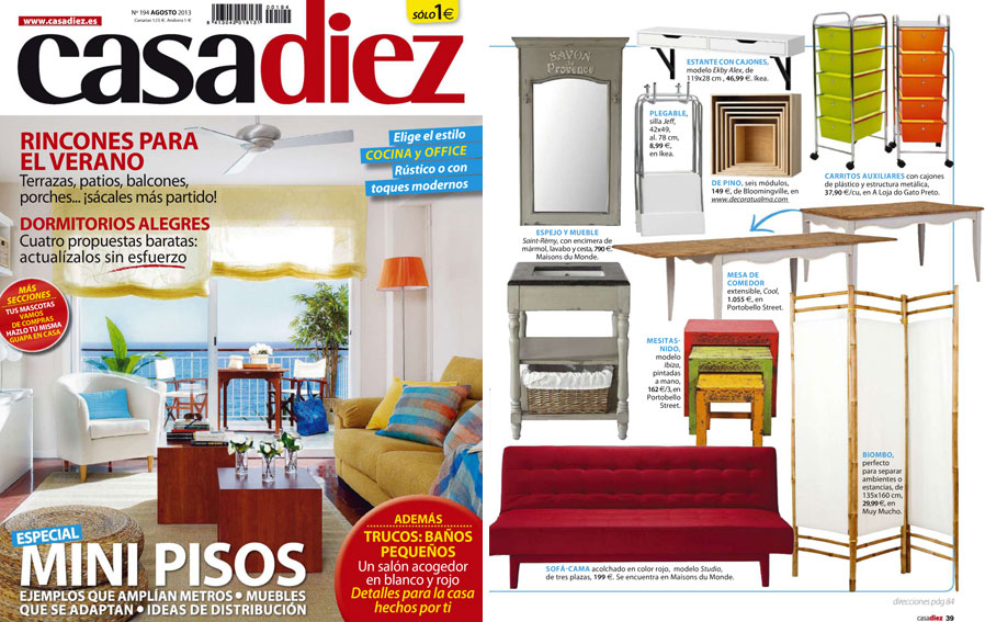 PortobelloStreet.es en Revista Casadiez - Agosto 2013 Portada y ...
