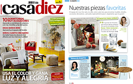 Revista Casadiez - Marzo 2014 Portada y P�gina 4