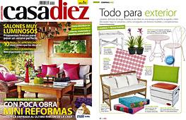 Revista Casadiez - Julio 2014 Portada y P�gina 22