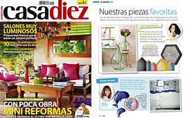 Revista Casadiez - Julio 2014 Portada y P�gina 2