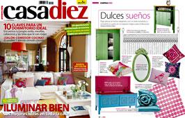 Revista Casadiez - Noviembre 2014 Portada y P�gina 40