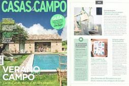 Revista Casas de Campo - Agosto 2016 Portada y Página 8