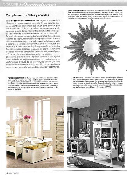 Revista casa y jard n febrero 2010 p gina 42 for Casa y jardin revista