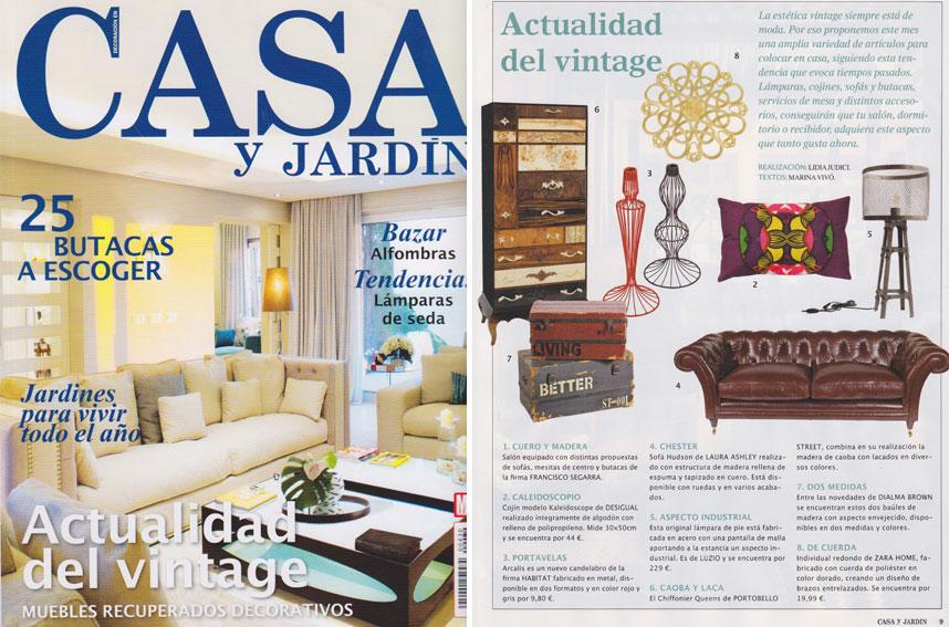 En revista casa y jard n enero 2014 for Casa y jardin revista