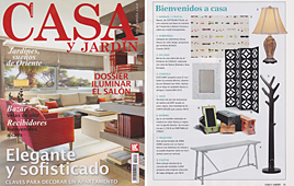 Revista Casa y Jard�n - Febrero 2014 Portada y P�gina 11