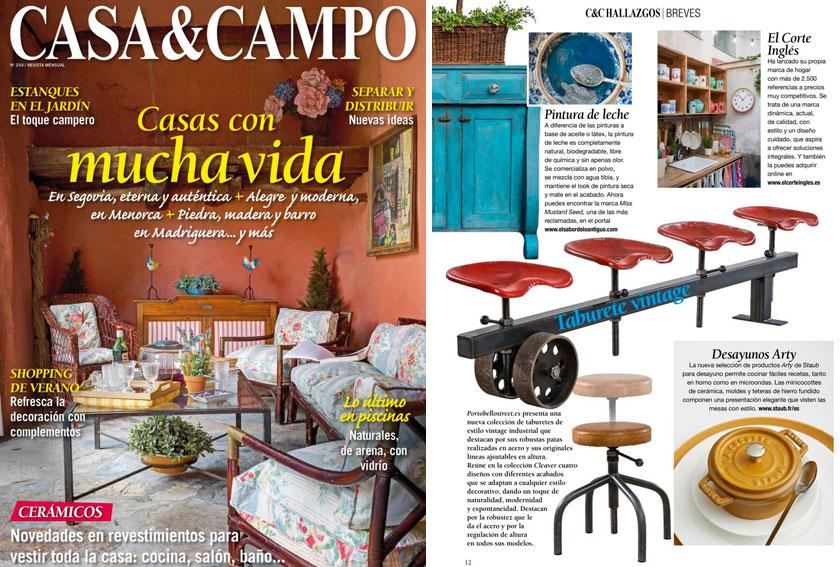 Revista Casa&Campo - Junio 2015 Portada y P�gina 12