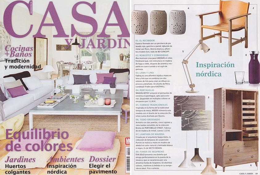 En revista casa y jard n marzo 2013 for Casa y jardin revista