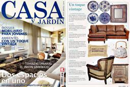 Revista Casa y Jard�n - Agosto 2014 Portada y P�gina 15