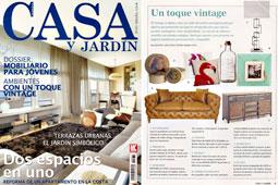 Revista Casa y Jard�n - Agosto 2014 Portada y P�gina 9