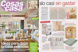 Revista Cosas de Casa - Febrero 2014 Portada y P�gina 43