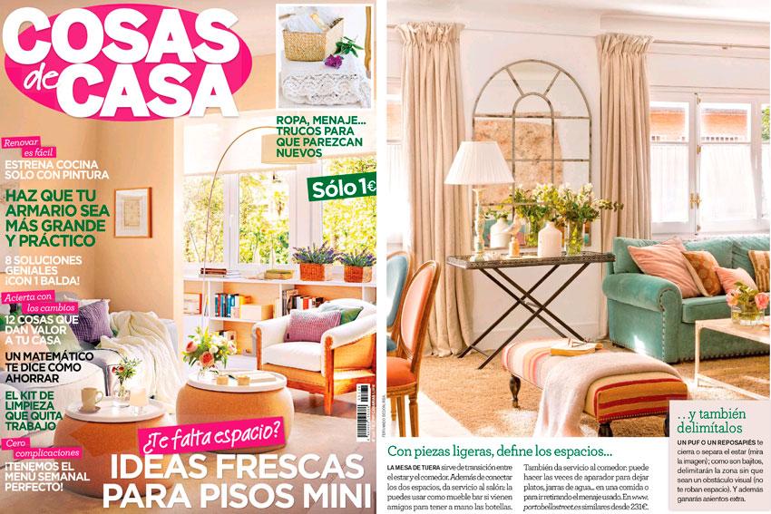 En revista cosas de casa febrero for Cosas de casa revista decoracion