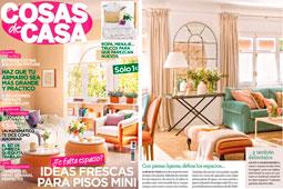 Revista Cosas de Casa - Febrero 2016 Portada y P�gina 11