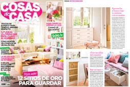 Revista Cosas de Casa - Marzo 2016 Portada y P�gina 8