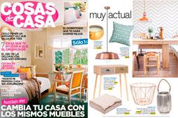 Revista Cosas de Casa - Abril 2016 Portada y P�gina 5