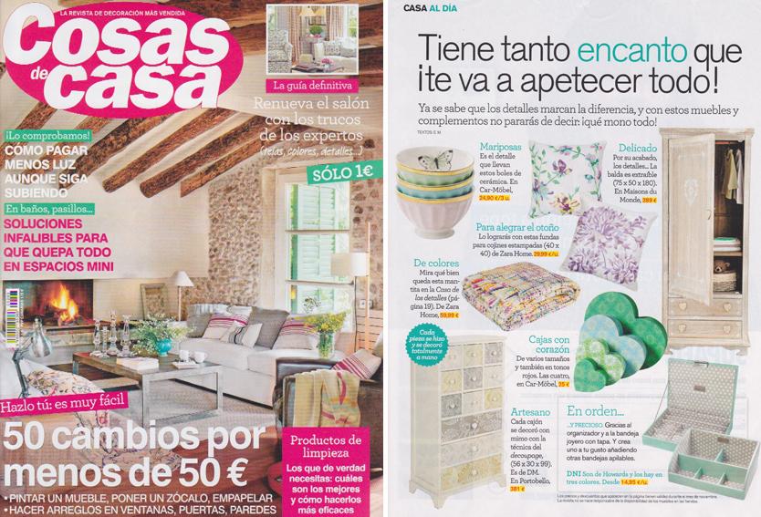 En revista cosas de casa noviembre 2013 - Outlet cosas de casa ...