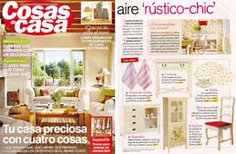 Revista Cosas de Casa - Agosto 2014 Portada y P�gina 21