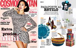 Revista Cosmopolitan - Noviembre 2014 Portada y P�gina 206