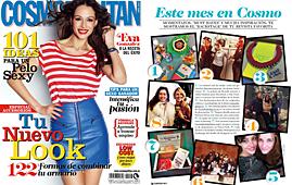 Revista Cosmopolitan - Abril 2014 Portada y P�gina 28