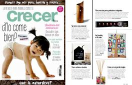 Revista Crecer Feliz - Marzo 2015 Portada y P�gina 11