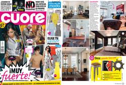 Revista Cuore - Mayo 2016 Portada y P�gina 37