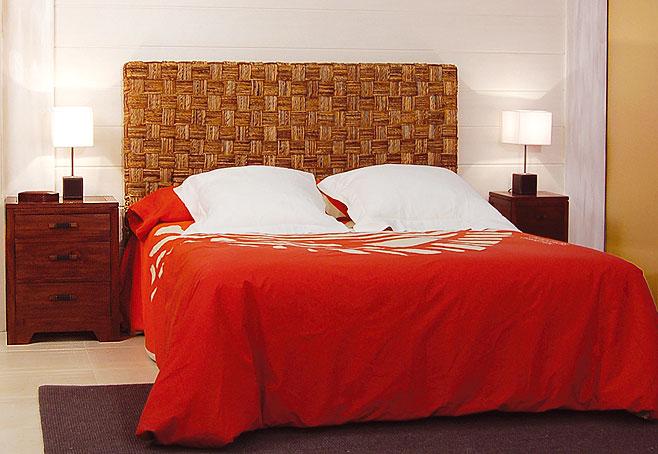 Cabecero colonial abaca en - Cabeceros de cama rusticos ...